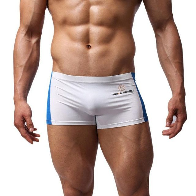 Plus Size Masculino Sexy Men's Boxer Briefs Swimming Swim Shorts Trunks Addicted Sous Vetement Homme Mannen Ondergoed tr1