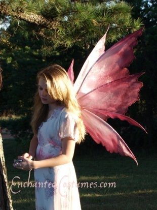 PATTERN for Rhea Faery Wings - Large : Enchanted Costumes, Fairy Wings and Wedding Gowns, Where fairy tales are real.