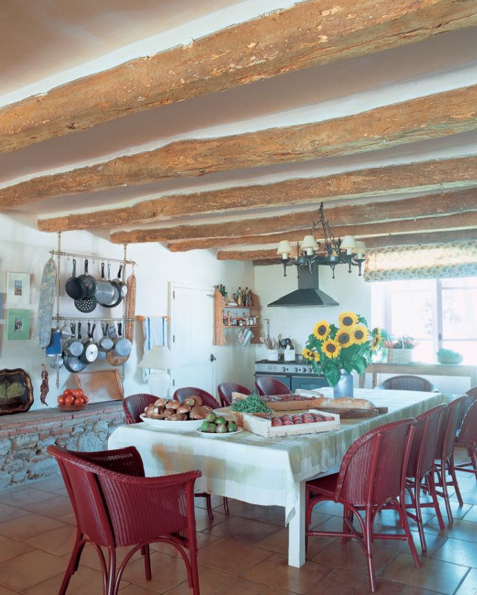 Kathryn M Ireland - Summers in France - what a great kitchen via French Essence