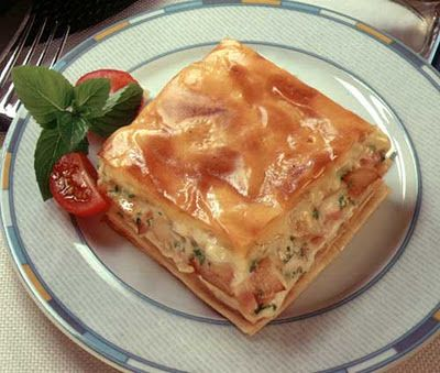 Greek potato pie