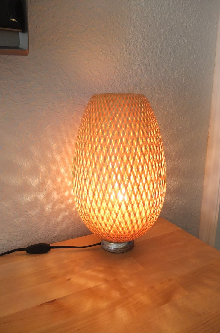 The BOJA table lamp adds a nice glow to the room in the evening, and great texture during the day.