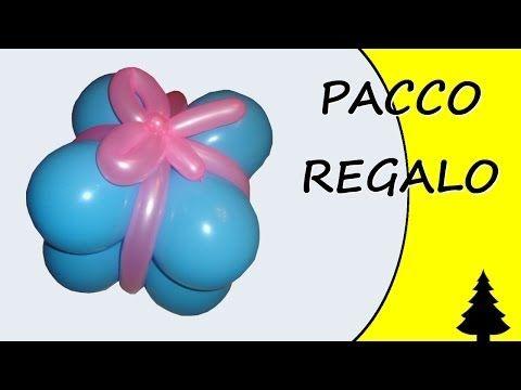 Palloncini modellabili - Pacco Regalo - Gift - Speciale Natale - YouTube