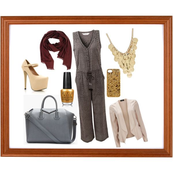 """brown coll"" by nurulcnisa on Polyvore"