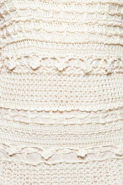 Vestido Crochet Martini Prata - Vanessa Montoro - vanessamontoro