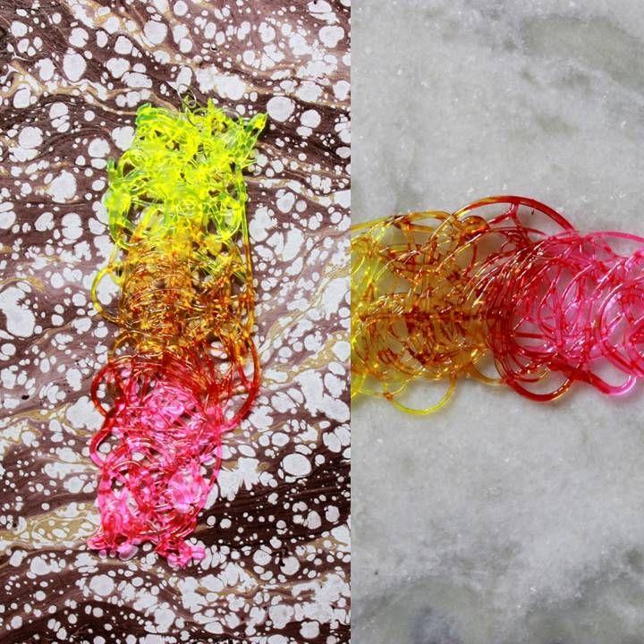 Metamorphosis Dynamic Yellow Necklace META006 Para mais informações ou encomendas/ For inquiries, please send an email on: dianascoelho@gmail.com