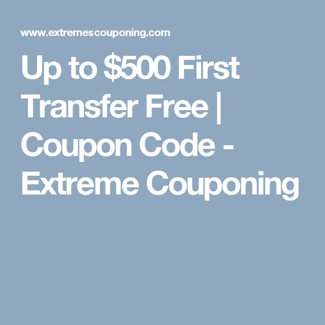 20 best extreme couponing images on pinterest extreme couponing up to 500 first transfer free coupon code extreme couponing fandeluxe Choice Image