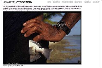 Jowitt Photography - Glenn Jowitt is a New Zealand Photographer who has for many years photographed in the Pacific and completed many exhibitions and books.