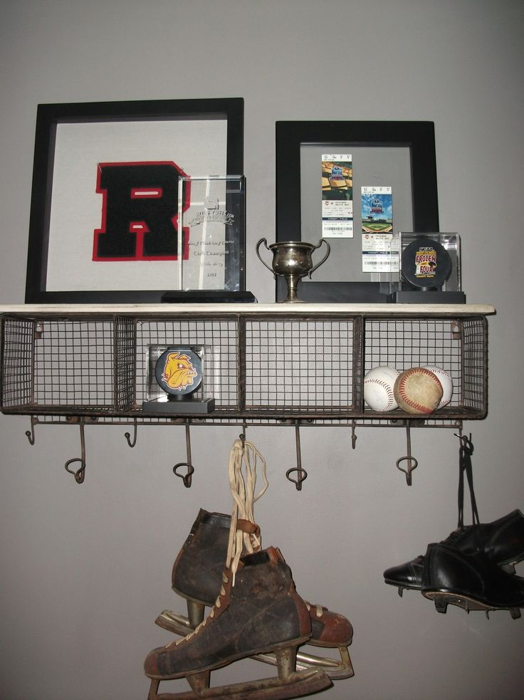 1000 Ideas About Vintage Sports Decor On Pinterest