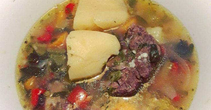Εξαιρετική συνταγή για Κρεατόσουπα με τραχανά. Συνταγή από Αρκαδία