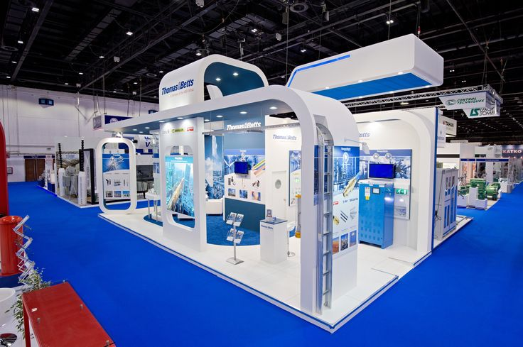 THOMAS & BETTS MIDDLE EAST ELECTRICITY DUBAI 2014 PRO EXPO Stand design and construction