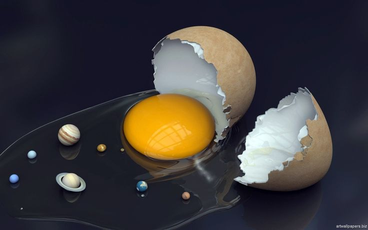 Egg and Planets