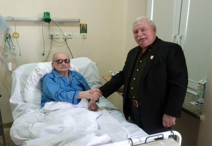 Jaruzelski z Wałęsą ...Bolkiem