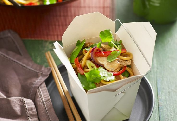 Forget delivery! Whip up a quick order of chicken and noodles from home with this simple recipe.