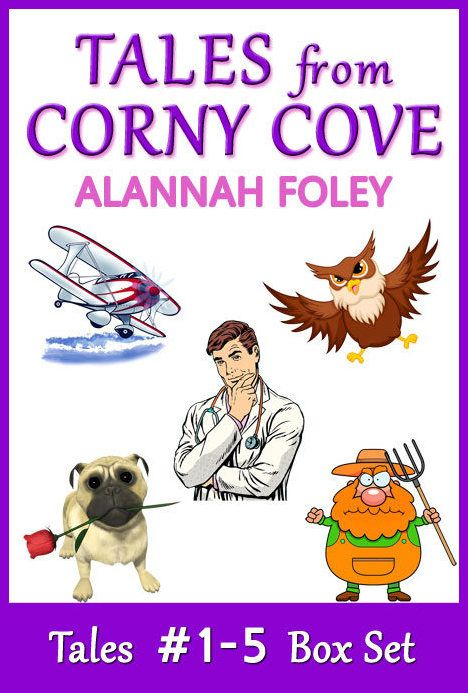 Tales from Corny Cove - a series of 5 light-hearted, easy-read novelettes set in an idyllic holiday location. Series Prequel FREE.