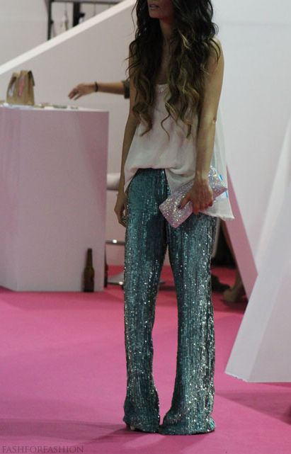 These pants need serious tailoring, and would benefit at a touch above ankle length. But I love them