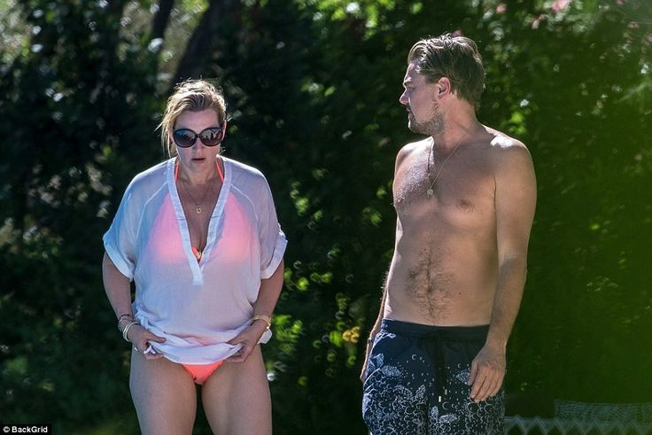 Leonardo DiCaprio & Kate Winslet in Saint Tropez - pinned by Suzi Bay