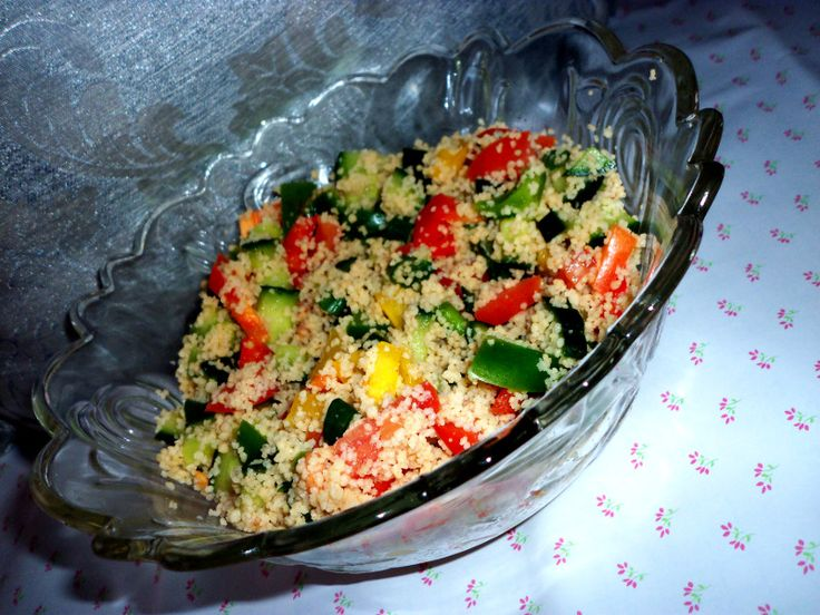 Oh So Easy Couscous Salad
