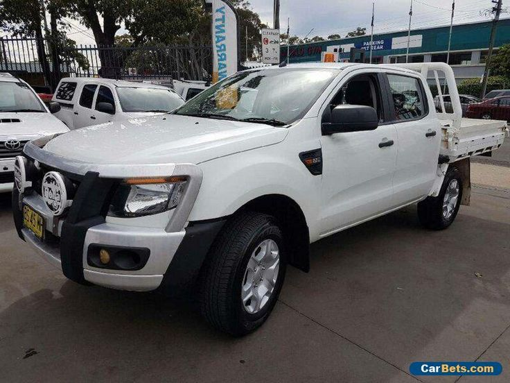 2012 Ford Ranger PX XL 2.2 (4x4) White Automatic 6sp A Crewcab #ford #ranger #forsale #australia