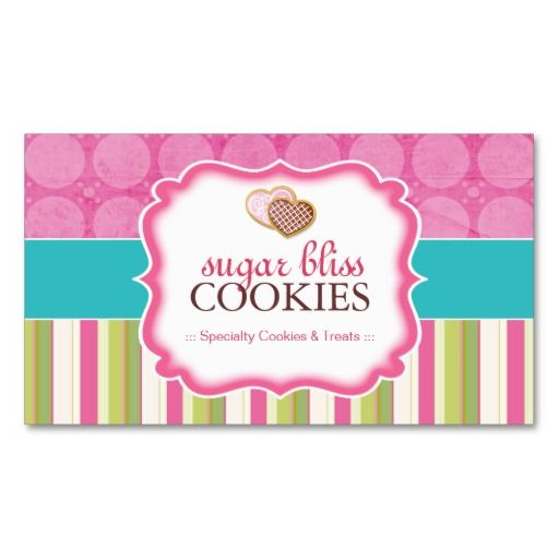 442 best Bakery Business Cards images on Pinterest