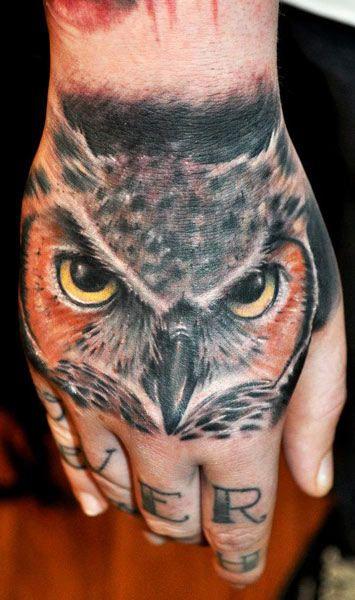 Tattoo Artist - Benjamin Laukis - www.worldtattoogallery.com/hand_tattoos