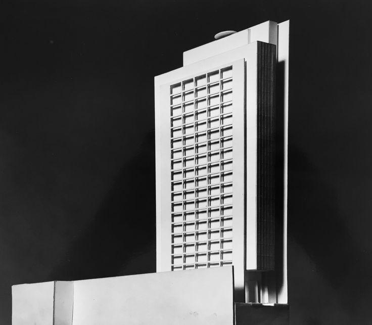 Proposta para edifício-sede da Fapesp, projeto de Eduardo de Almeida.