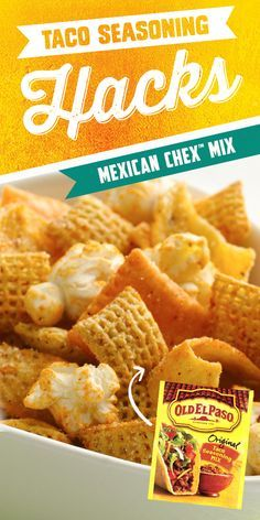 Expecting a hungry crowd? Make this bold and festive snack mix in minutes - no baking required!