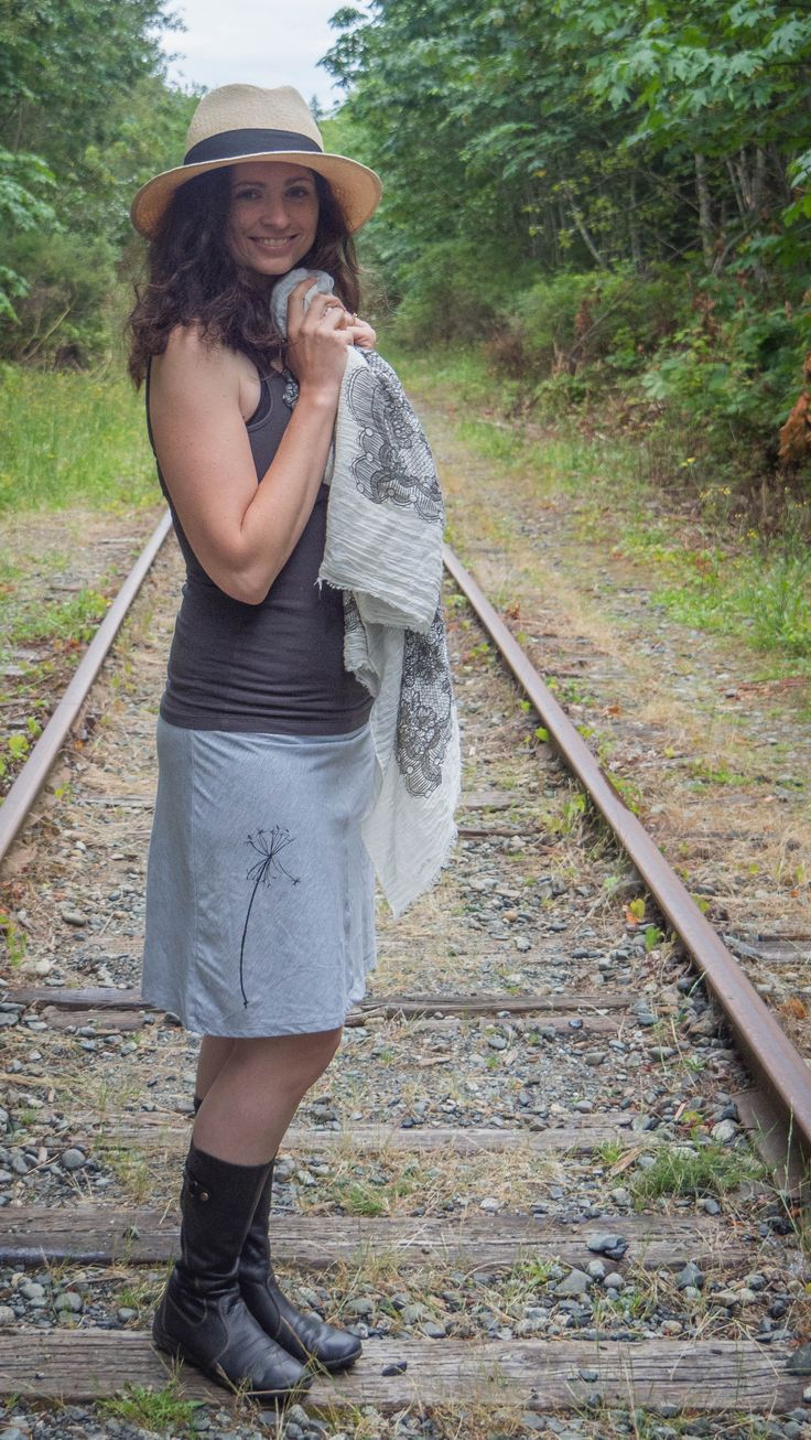 The Sea Breeze Skirt by jipsi tree - Bamboo Cotton Blend - so beautiful for summertime! jipsitree.com