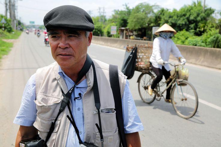 """Nick Ut The """"Napalm girl' photographer returns to Vietnam winner of the Pulitzer award 43 years later"""