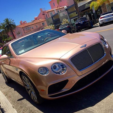 Rose Gold Bentley