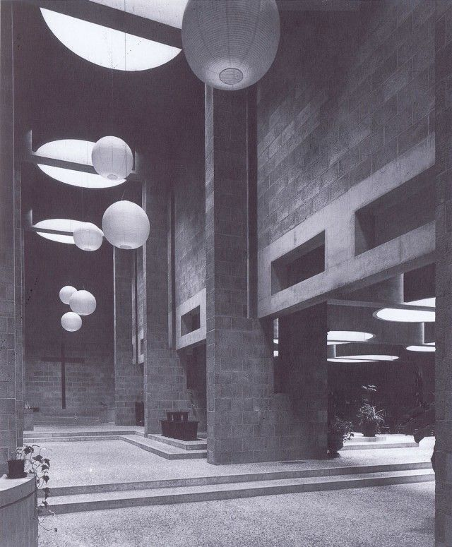 Aldo van Eyck. Roman Catholic Church. The Hague, 1964-69.