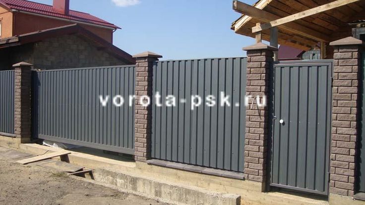 Автоматические откатные ворота | НИЗКИЕ ЦЕНЫ | Монтаж, обслуживание, ремонт | ПСК Союз
