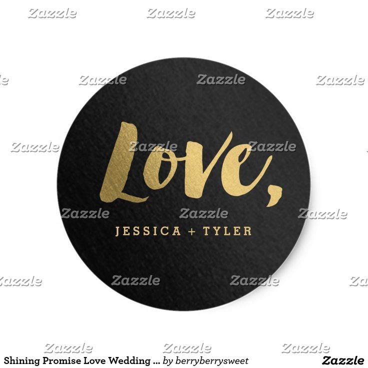 zazzle wedding invitations promo code%0A Shining Promise Love Wedding Favor Sticker