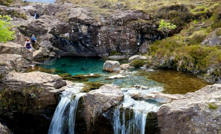 The Most Beautiful Places in the World - Fairy Pools Isle of Skye in Scotland