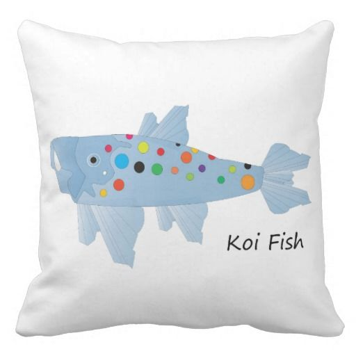 17 best images about designs on zazzle on pinterest for Koi fish pillow