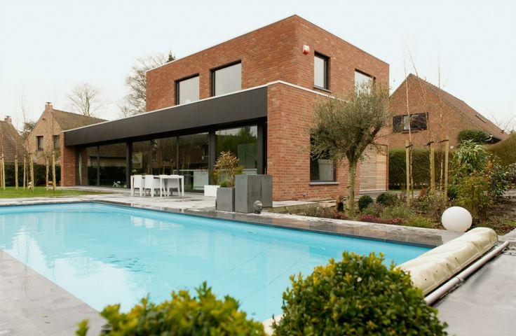 Dewaele Houtskeletbouw: Realisatie houtskeletbouw, schitterende woning met hoog thermisch comfort