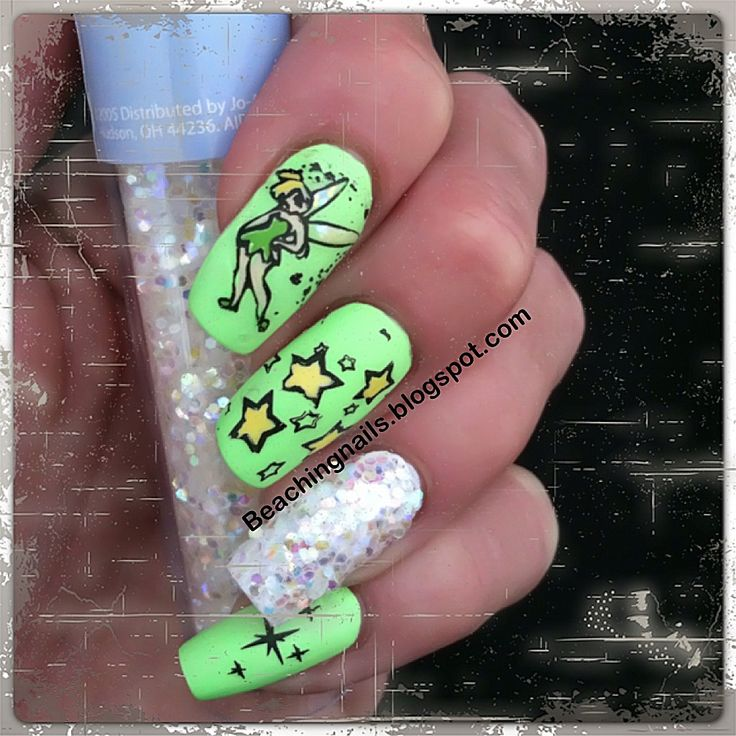tinkerbell nails