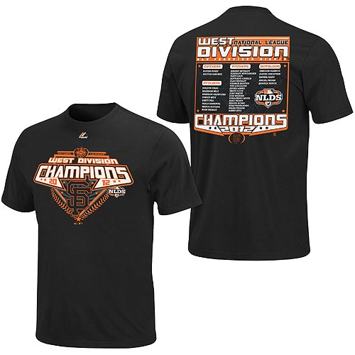 San Francisco Giants 2012 NL West Division Champions Roster T-ShirtDivision Champs, Champion Roster, Baseball 333333, San Francisco Giants, Champs 2012, Future Husband, Giants Baseball, Giants 2012, Division Champion