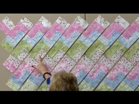 ▶ Quilt in a Day Zig-Zag Pattern - YouTube