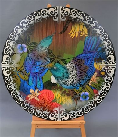 1.2m Two Tui Round. Artwork from Flox. See more at http://watermarkltd.com/
