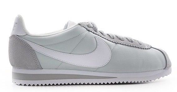 the latest d18e7 63f66 Nike WMNS Classic Cortez Nylon Size 8 US White Green Women s Shoes    Classic cortez, Athletic shoes and Athletic