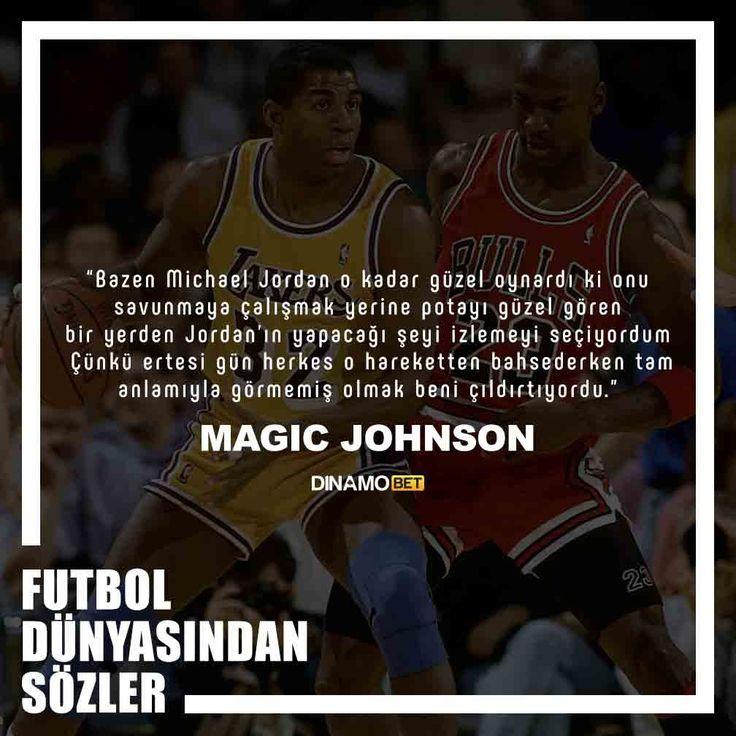 Bulls efsanesini izlemek böyle bir şeydi işte… www.dinamobet15.com #dinamobet #magicjohnson