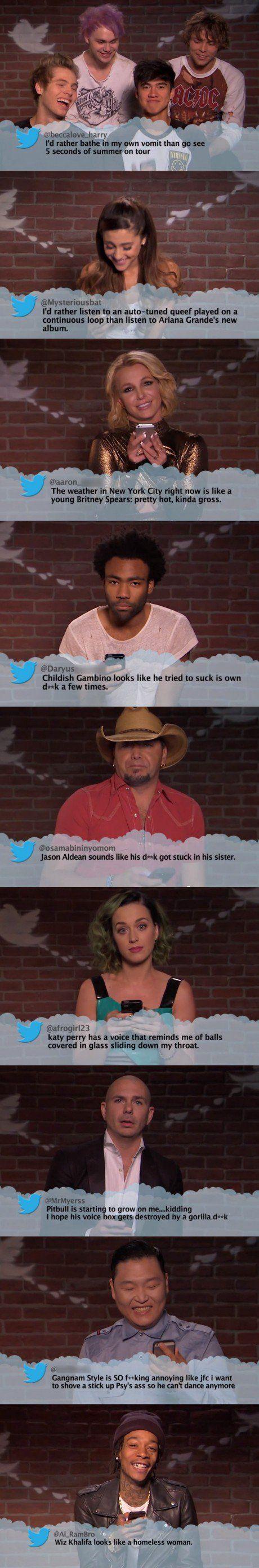 Celebrities Read Mean Tweets #5 - Late Night Feud