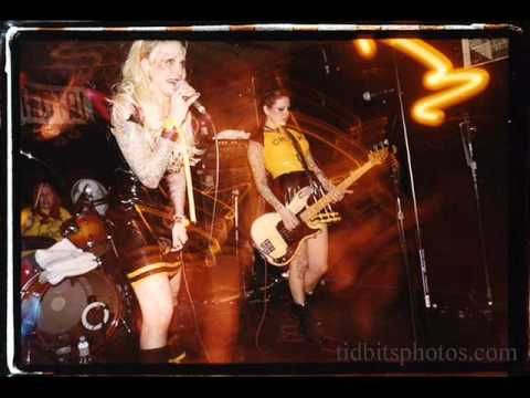 Lunachicks - Heart Of Glass. Cover of Blondie's song. Rowdy, fast, punky, but still very catchy.