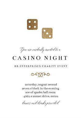 146 best party invitation templates images on pinterest order shiny dice printable invitation template customize add text and photos print download stopboris Choice Image