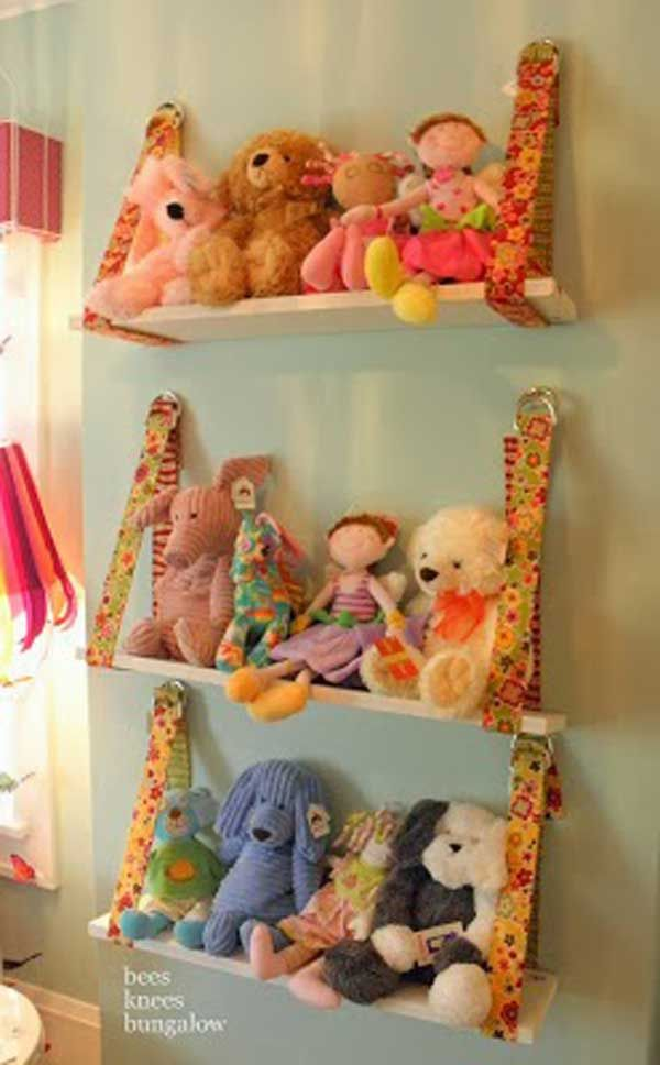 "Are your kids the fans of stuffed? All kinds of stuffed toy filled the room, so they always shout at you ""Mom, there is no place to play games in my room!"" However, the room is obviously big enough, it is the stuffed toys that take over your kids bedroom and play area. Don't be […]"