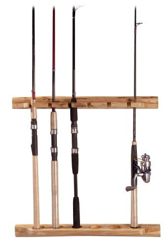60 best fishing rod rack images on pinterest fishing for Fishing rod rack