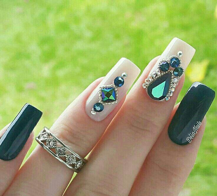 Mejores 258 imágenes de |Uñas| en Pinterest | Arte de uñas ...
