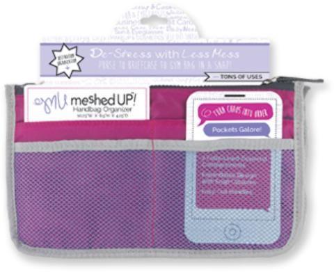 Wholesale Meshed Up Handbag Organizer - Pink (Case of 20)