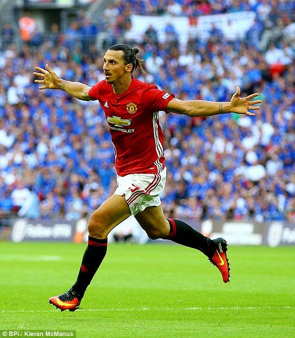 Zlatan Ibrahimovic marked his competitive debut for Manchester United with the…
