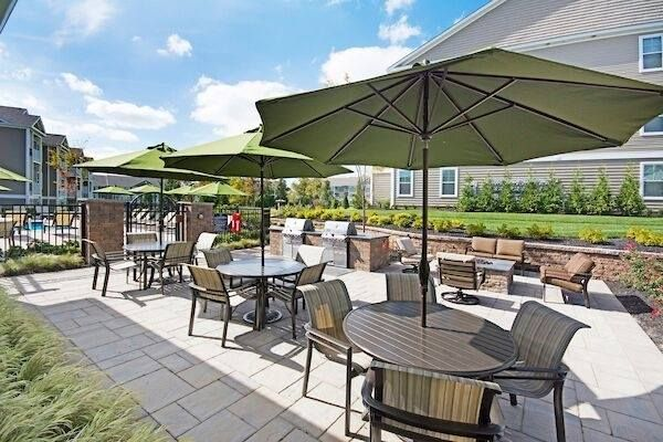 We are so excited to get outside and enjoy our BBQ terrace and fire